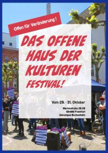 Offen für Veränderung - Das Offene Haus der Kulturen feiert den Start seiner großen Kampagne mit einem mehrtägigen Festival.