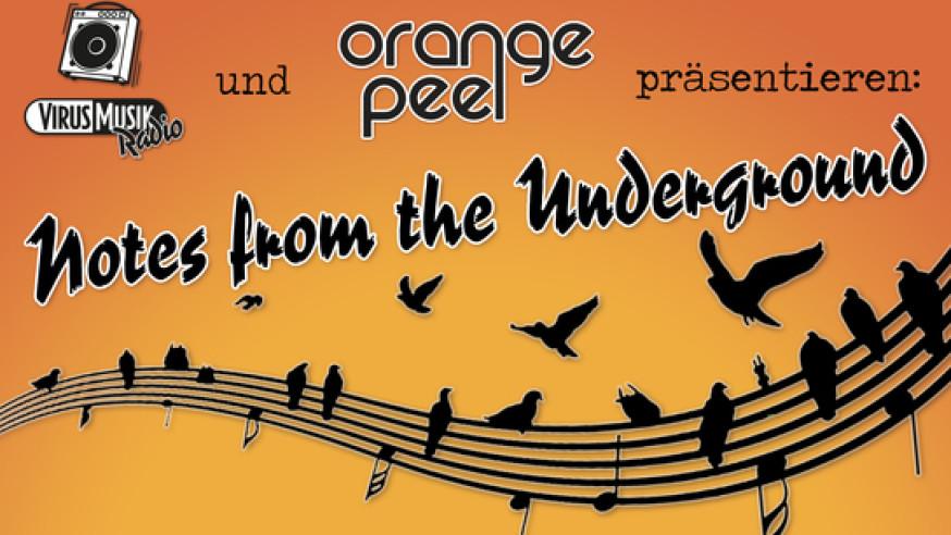 Notes from the underground – Bilder vom 11.04. im Orange Peel