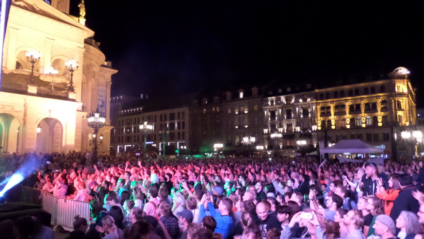 Rock gegen Rechts ! Live am 01.09.2018 vor der Alten Oper