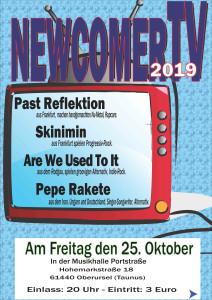 Die dritten NewcomerTV Nacht 2019, in der Musikhalle Portstrasse @ in der Musikhalle Portstraße