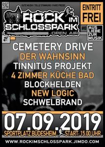 Rock im Schlossparl plakat