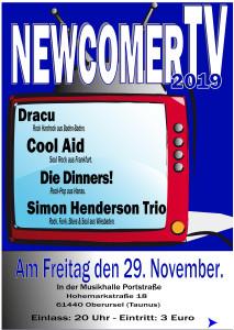 Die 4. NewcomerTV Nacht in der Musikhalle Portstrasse