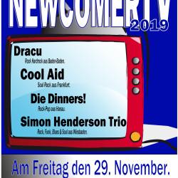 Die vierte NewcomerTV Nacht in der Musikhalle Portstrasse