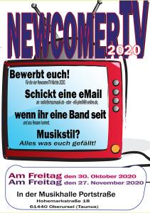 01 NewcomerTV Vorschau 2020 aktuell internet