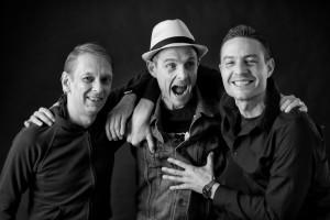 Dennis, Thomas und Chris (v.l.n.r.) sind TONGÄRTNER aus Frankfurt