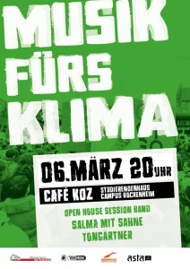 unplugged - MUSIK FÜRS KLIMA - Net-Flyer
