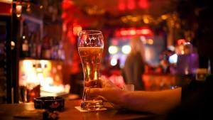 Das letzte Bier im Clubkeller ist getrunken. RIP