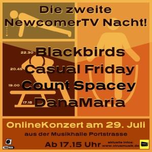 01 Flyer zweite NewcomerTV Nacht