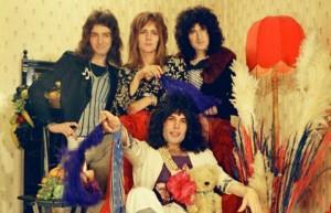 wer sonst ? Supergroup Queen mit Freddie Mercury