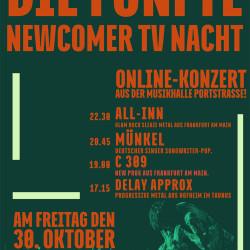 Die fünften NewcomerTV Nacht 2020 in der Musikhalle Portstrasse!